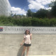 Kaveri Sakar '20 learns about University of Pennsylvania's psychology program MindCORE and the research being conducted.