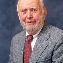 Douglass North, 2008 Upton Scholar