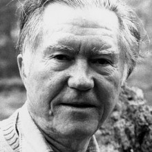 William Stafford, 1990-1991 Mackey Chair