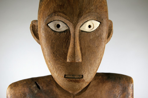 Tau-tau, meaning ?little person? or ?person-like,? are funerary effigies from Sulawesi, Indonesia...