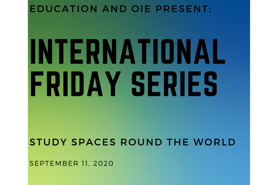 International Friday Series: Study Spaces Around the World