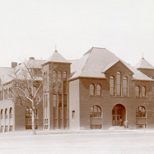 Pearsons Hall of Science in the 1890s