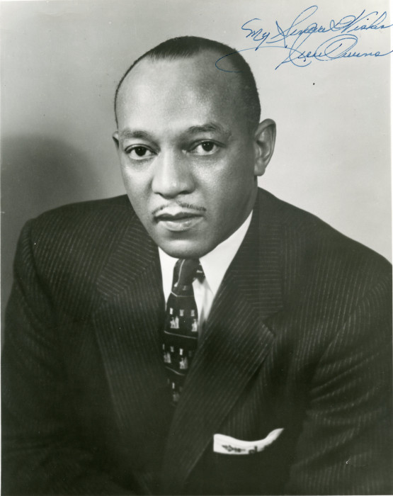 Jesse Owens who spoke at the 1963 Hall of Honor at Beloit College.