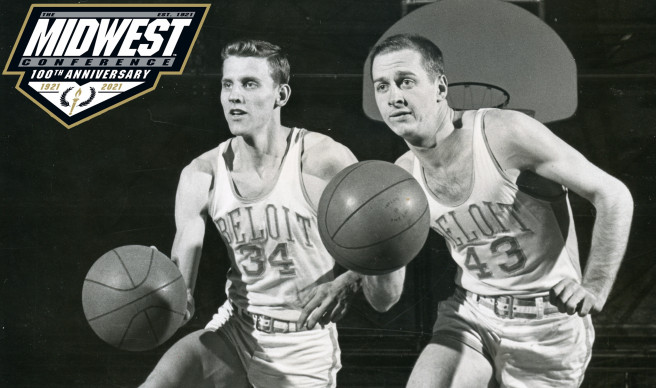 Beloit alums Ron Bontemps (left) and Johnny Orr (right) were members of multiple Midwest Conferen...