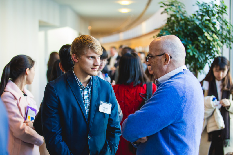 Beloit College students spend a day in Chicago at the annual Econ Day learning and networking wit...