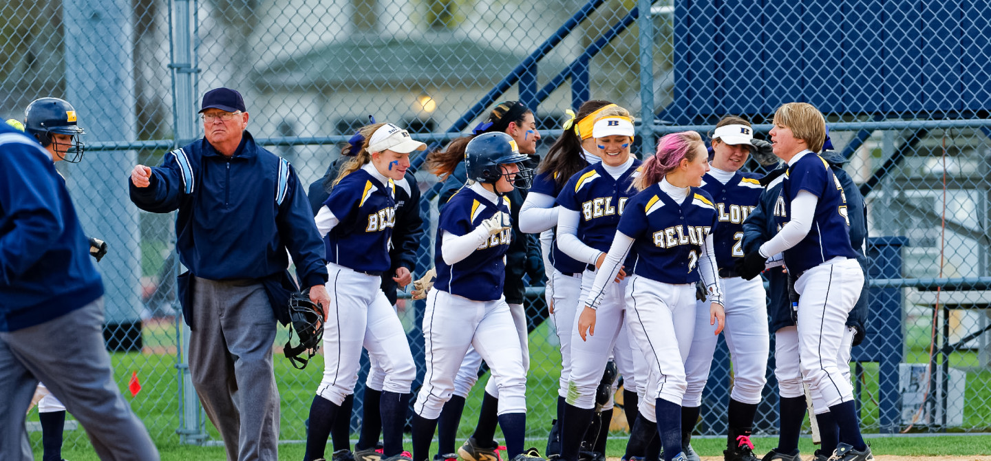 Go Bucs! Beloit has 18 varsity teams. (In a normal year baseball and softball would be filling the bleachers this spring.)