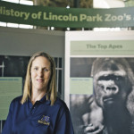 Kirsten Bonnie stands in the Lincoln Park Zoo in Chicago. Photo Credit: Alyssa Schukar for The Chronicle
