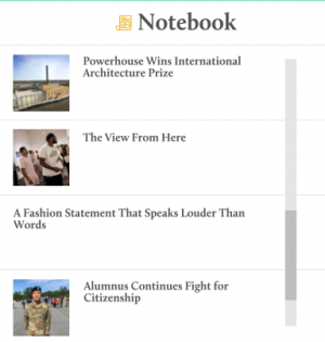 Magazine Homepage: stories tagged with notebook