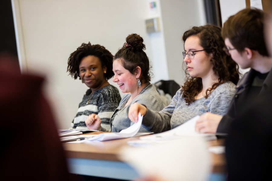 Beloit students get to work closely in the classroom with world renowned scholars during the many...