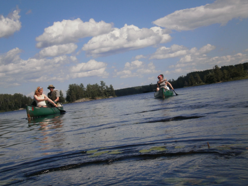 Environmental Justice students conduct research in the Boundary Waters Canoe Wilderness