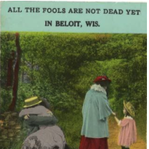 A humorous postcard from Beloit, WI