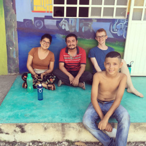 Nathan Marklin volunteered at a migrant camp in southern Mexico.