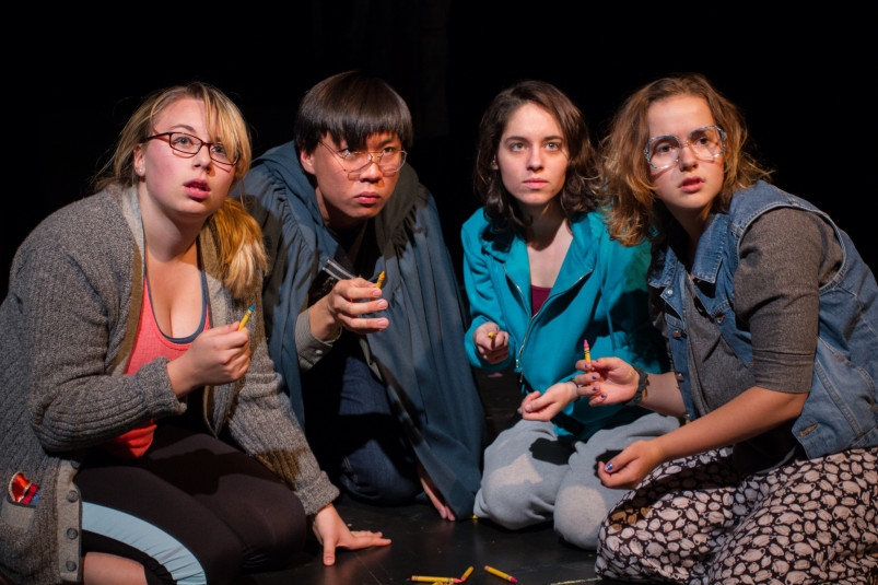 Insider/Outsider: a devised production about the experience of white privilege at Beloit College