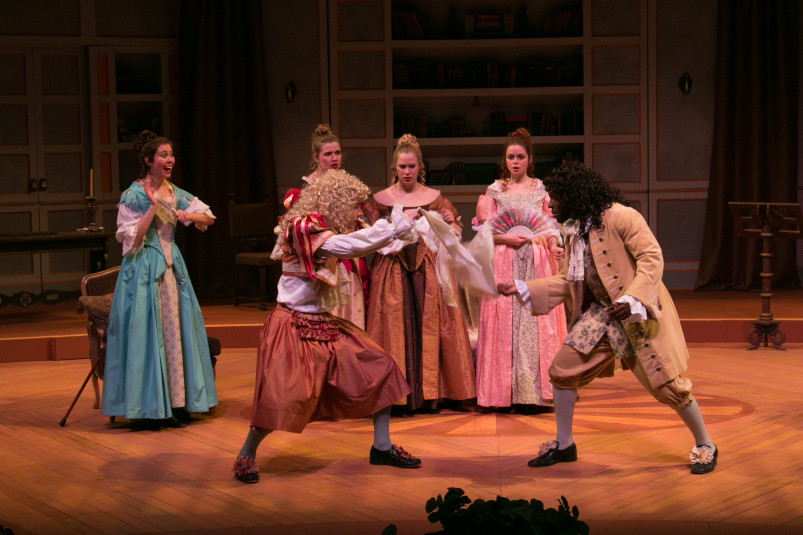 Learned Ladies by Moliere, directed by Amy Sarno