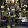 Brooke Popkin worked as an EMT and firefighter for the South Beloit (Ill.) Fire Department.