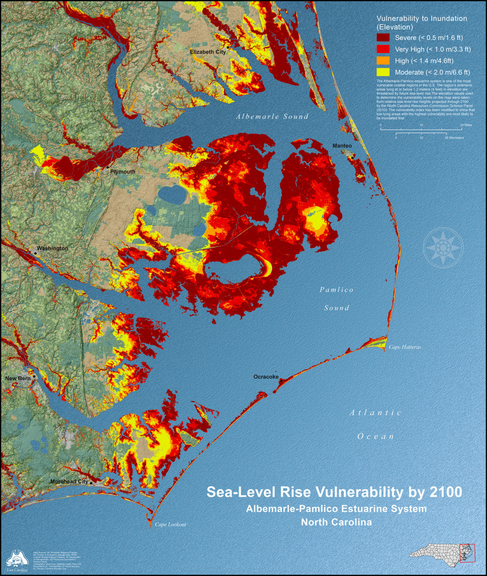 Sea-Level Rise Vulnerability by 2100