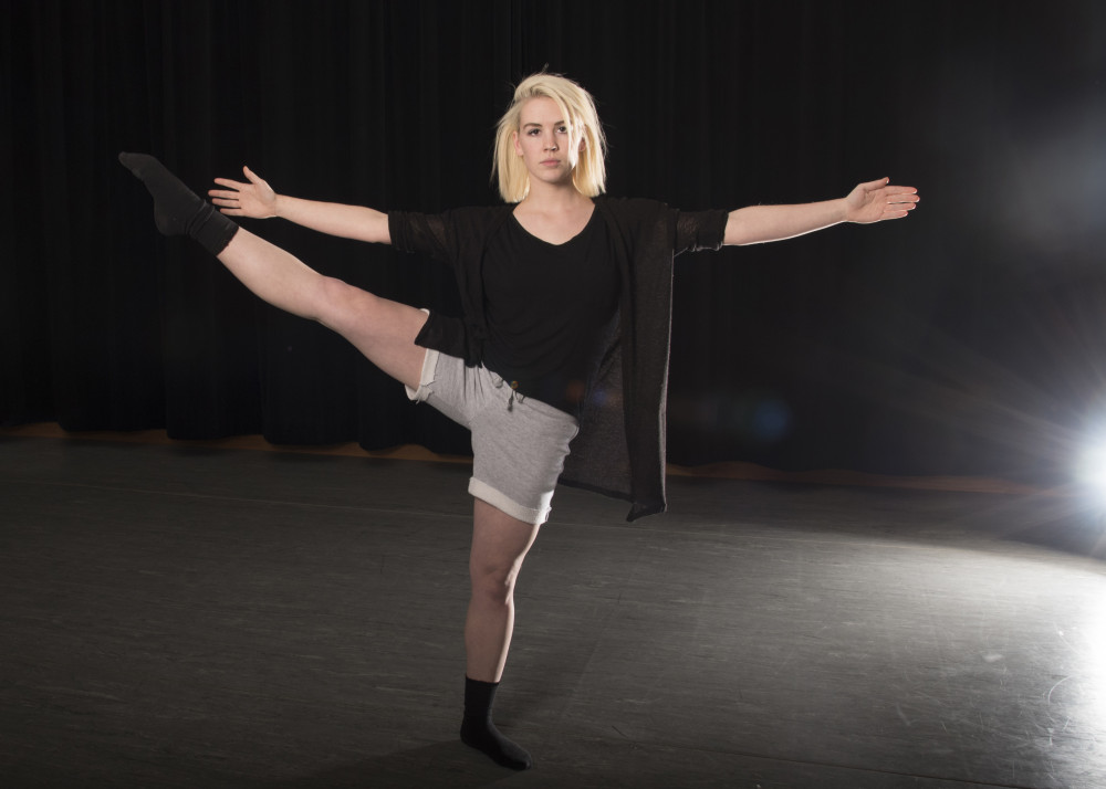 Sarah Miller'15 is working with survivors of sexual assault to tell their stories through dance.