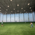 In late August, the Powerhouse?s new Field House received a few finishing touches. The square foo...