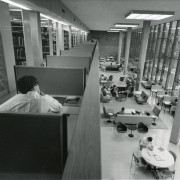 Beloit?s library shown in the early 1960s.