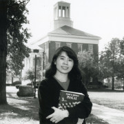 Ying Pang?90, shown in 1989, came to Beloit through the college?s historic exchange program with ...