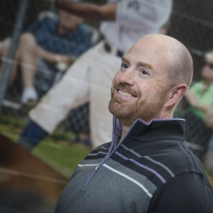 Head Baseball Coach Dave DeGeorge'89 takes his role as a mentor seriously, starting relationships with prospective students while recruiting them and continuing long after they've graduated.