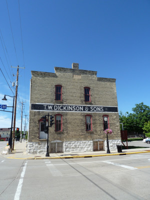 The T.W. Dickinson & Sons warehouse in Edgerton, Wis., harks back to when this part of Southe...