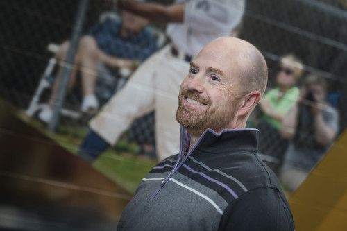 Head Baseball Coach Dave DeGeorge'89 takes his role as a mentor seriously, starting relationshi...