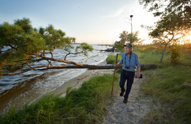 Stan Riggs, a coastal and marine geologist who has been doing research on modern coastal systems ...