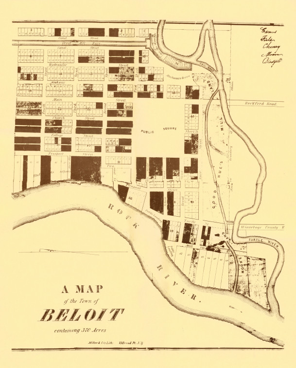 Town of Beloit Map