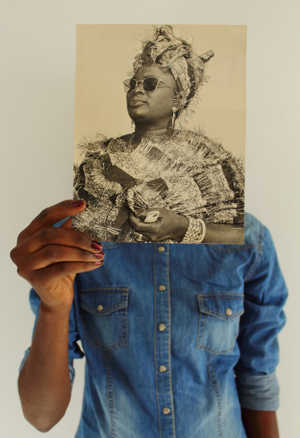 Photograph by Ibrahima Thiam, from his ?Vintage Portrait? series, 2017. Contemporary art from Sen...