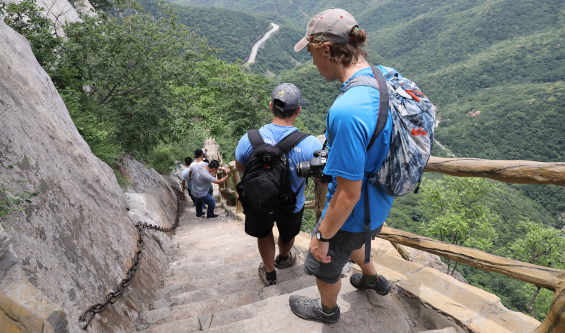 Beloit students and professors travel to the Yellow River area in China to take part in the Lands...