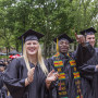 Graduates at Beloit College graduation May 20, 2018 (Photo © Andy Manis)