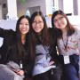 "From left: Lu ""Emily"" Liu'18, from China, Linh Ahn Le'20, from Vietnam, and Hian Yong Yeo'17 from Singapore founded the Beloit International Student Career Services club."